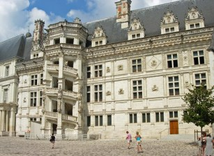 Castillo de Blois - Escalera de Francisco I