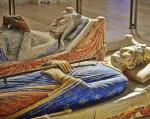 Sepulcros de Enrique II y Leonor de Aquitania