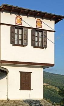 Makrinitsa. Detalle Casa Tradicional