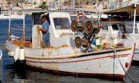 Symi. Barca de Pescadores