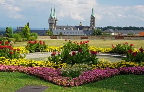 Catedral de Bamberg desde Michaelsberg