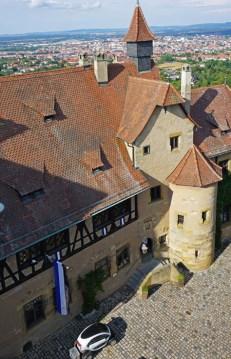 Vista del Castillo desde Torre Medieval