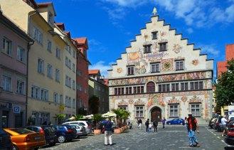 Ayuntamiento de Lindau (Rathaus) - Fachada Sur