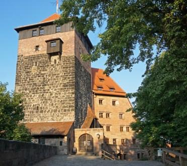 Acceso Castillo de Núremberg
