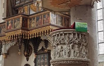 Púlpito y Órgano (Jakobskirche)