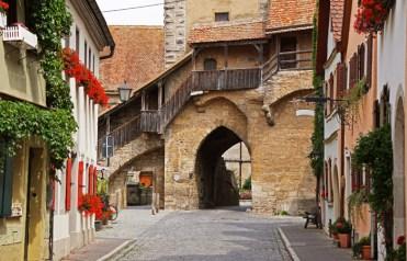 Klingentor - Acceso Murallas Rothenburg