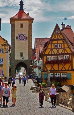El lugar más fotografiado de Rothenburg