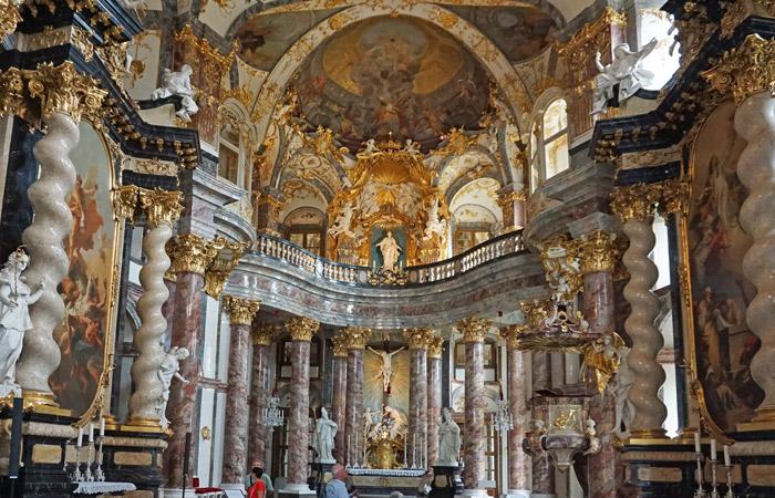 Capilla Barroca - Residenz Wurzburgo