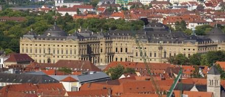 El Palacio Episcopal o Residenz de Wurzburgo - Patrimonio de la Humanidad desde 1981