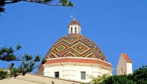 Alguero. Cúpula de la Iglesia de San Miguel