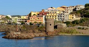 Castelsardo. Torre del Puerto