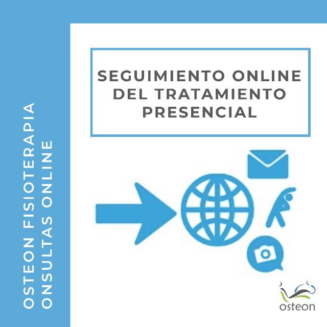 seguimiento online del tratamiento presencial