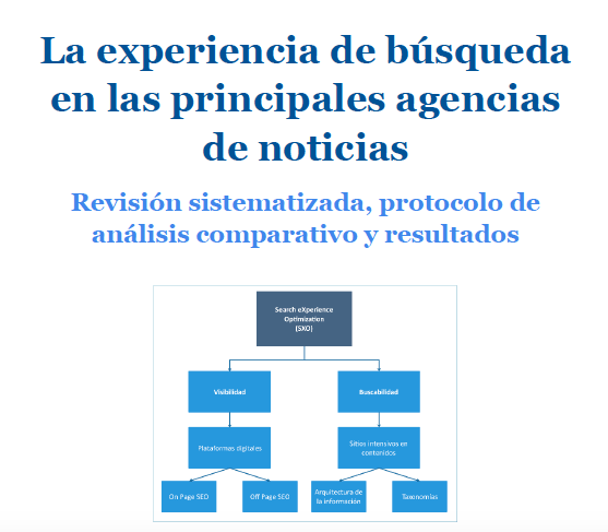 search experience optimization en agencias de noticias