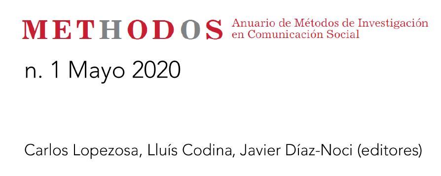 Anuario de Métodos de Investigación en Comunicación Social