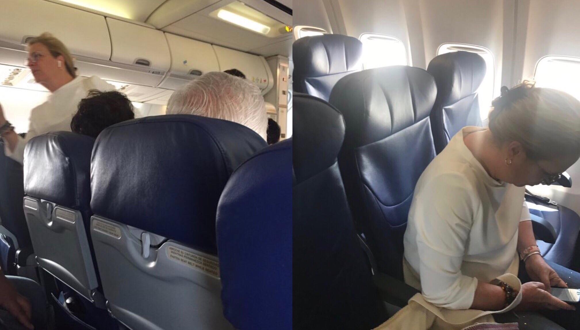 Lo del avión fue un pretexto.