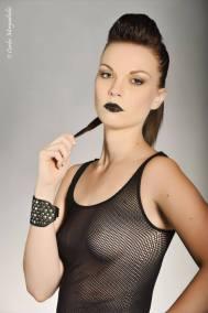 Make-up, modèle : Camille