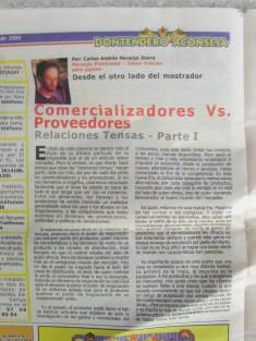 Conflictos entre proveedores y comercializadores 1