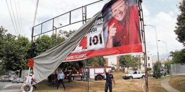 Vallas políticas en Medellín