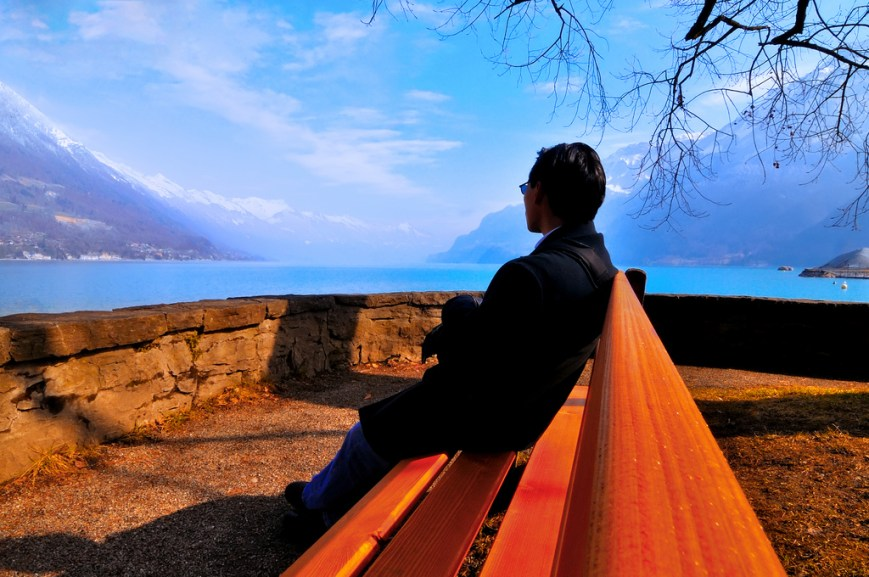 Travel - Contemplating nature