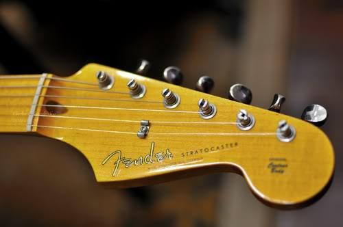 Fender American Vintage '57 Stratocaster headstock decals