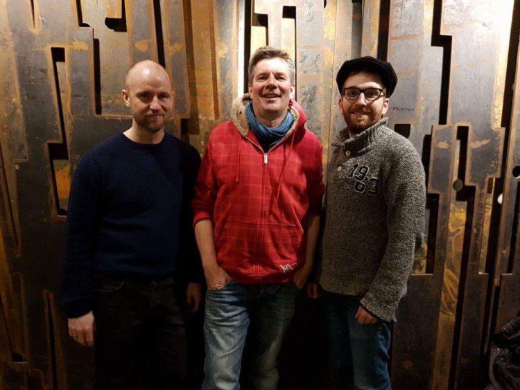 neste stopp: trio med Andreas Dreier, Carl Petter Opsahl og Eirik B. Svela
