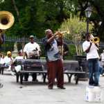 New Birth Brass band, Jackson Square