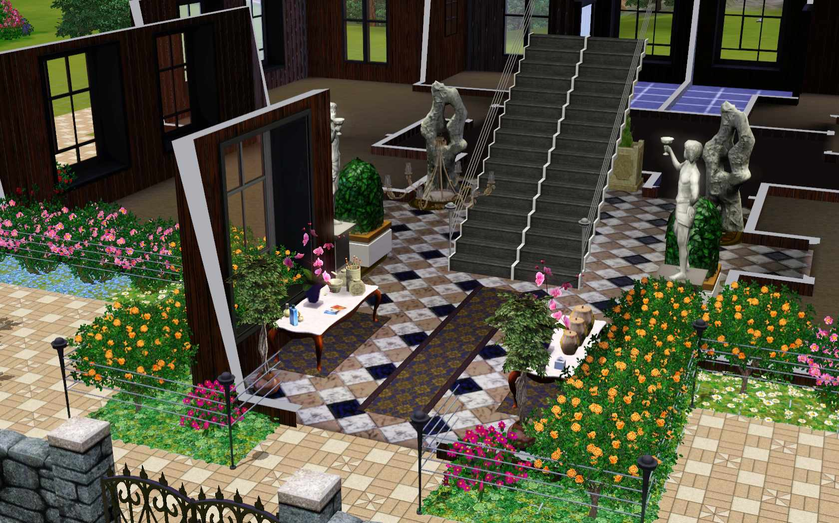 how to build a house on the sims 3