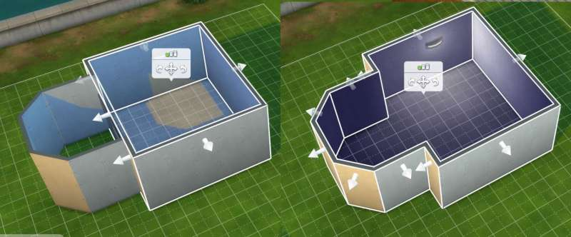 Sims 4 Building How To S Adding A Wall And Rmoving It Combines Two Rooms