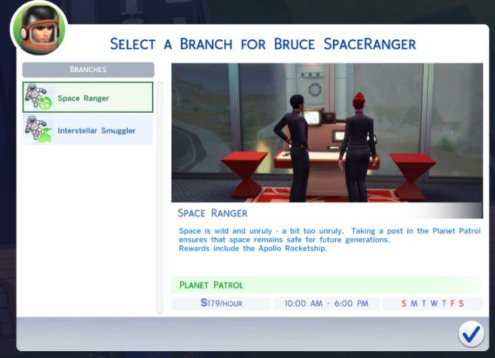 The Sims 4 Astronaut Career  Job Rewards  Bonuses