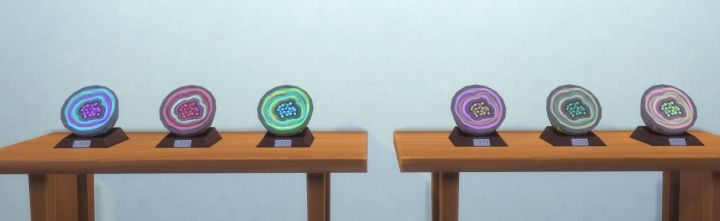 The Sims 4 Collections Geodes in Get to Work