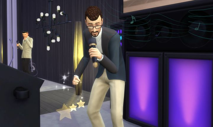 The Sims 4 Singing Skill (City Living)