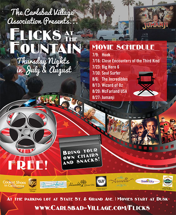 2015 Carlsbad Flicks at the Fountain