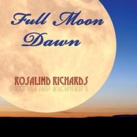 full moon dawn