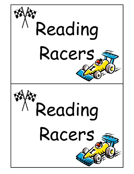 Reading Racers Label