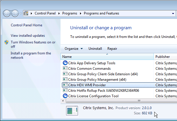 hotfix rollup pack 2 for citrix xenapp 6.5
