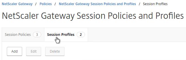 NetScaler Gateway 12 – SSL VPN