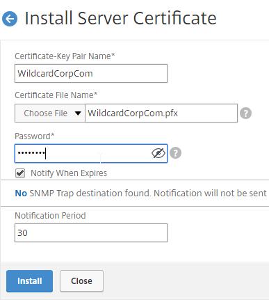 NetScaler 12 Certificates – Carl Stalhood