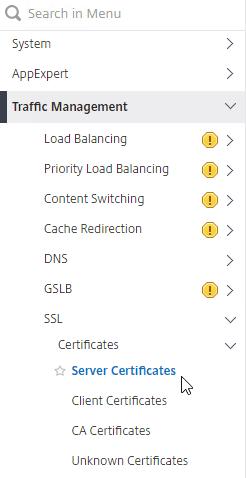 Certificates – Citrix ADC 13 – Carl Stalhood