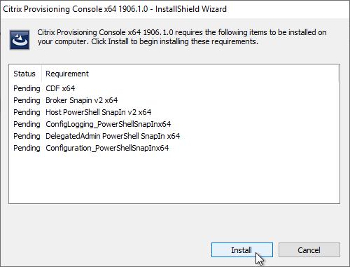 Citrix Provisioning 1906 – Server Install – Carl Stalhood