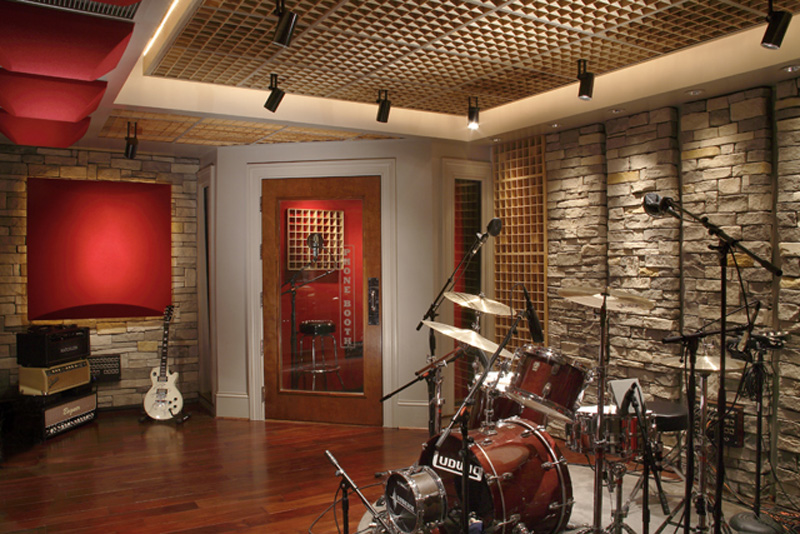 Sound Insulation for Walls in Nashville by Carl Tatz Design