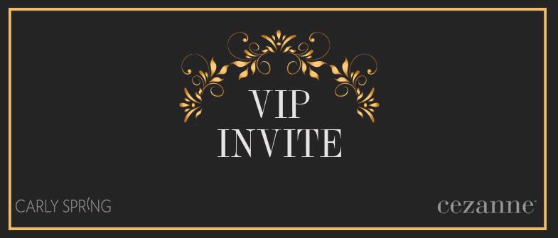 Your invitation to a unique event  Carly Spring Salon
