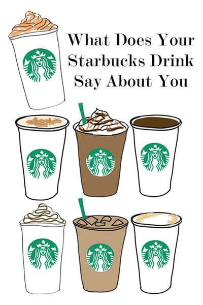 What Does Your Starbucks Drink Say About You  Carly the