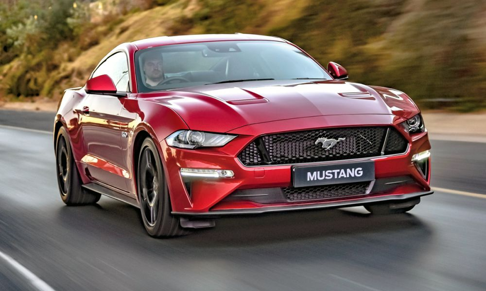 This is an all original car, but the wheels. Refreshed Ford Mustang Including Bullitt Finally Blasts Into Sa Car Magazine