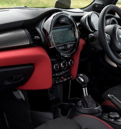 cabin of new 2015 mini john cooper works  [ 1700 x 956 Pixel ]