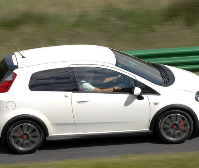 This Is The Regular Fiat Grande Punto Abarth Not Much Different To The Esseesse But Its Mm Taller Owing To Standard Suspension