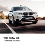 Bmw X3 2014 F25 Owner S Manual 251 Pages