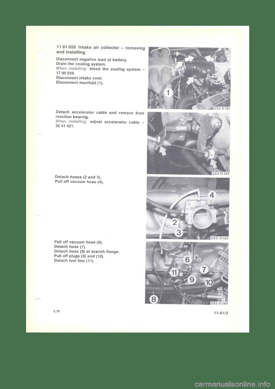 BMW 320i 1980 E21 M20 Engine Workshop Manual (121 Pages