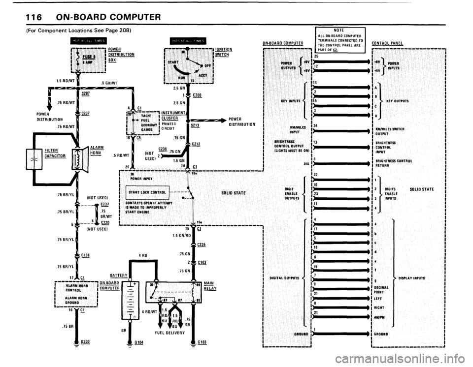 BMW 733i 1982 E23 Electrical Troubleshooting Manual (80 Pages)