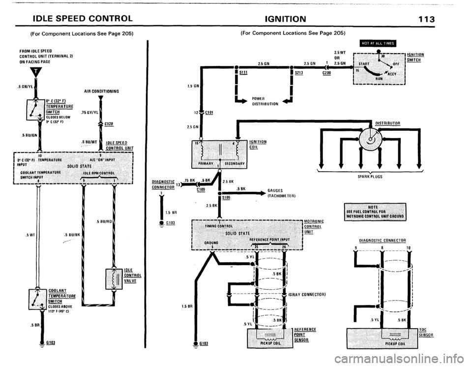 BMW 633csi 1983 E24 Electrical Troubleshooting Manual (82