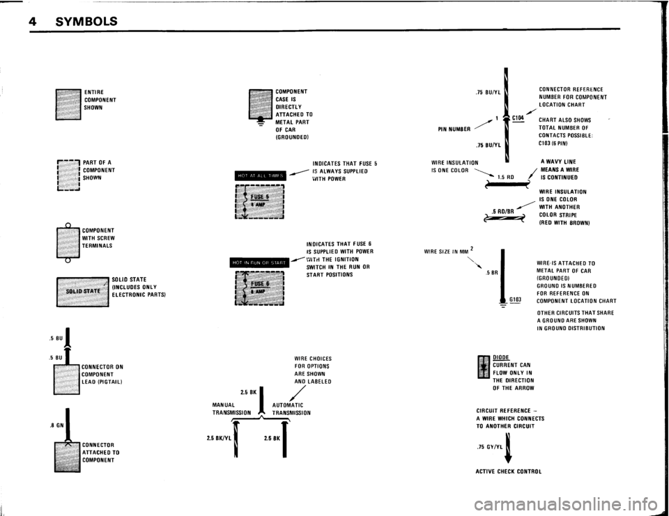 BMW 633csi 1984 E24 Electrical Troubleshooting Manual